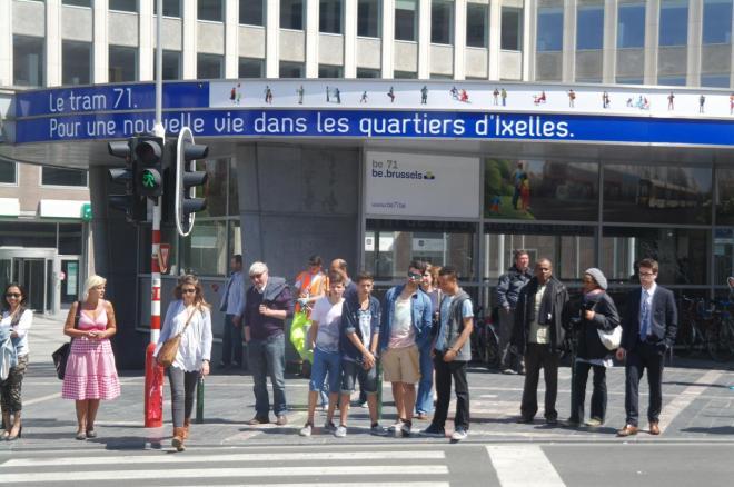 Station Metro Porte de Namur