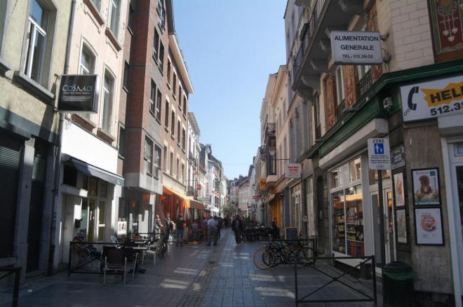 Le couloir de la mort, Porte de Namur